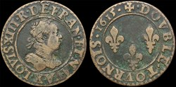 CGKL 264 - Louis XIII - Double tournois ...