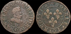 CGKL 202.B - Henri IV - Double tournois ...