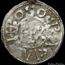 Boson (879-887) - Denier - Vienne