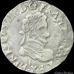 Henri IV (1589-1610) - Quart de franc - ...