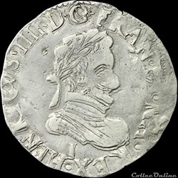 Henri IV (1589-1610) - Quart de franc - 1603 I Limoges