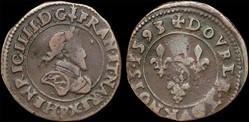 CGKL 182 - Henri IV - Double tournois 15...