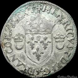 Henri II (1547-1559) -  Douzain - 1551 Montélimar