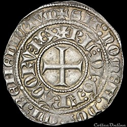 Charles VI (1380-1422) - Gros - Tournai