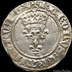 Charles VI (1380-1422) - Florette - Tour...