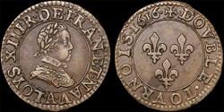 CGKL 386 - Louis XIII - Double tournois ...