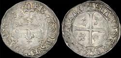 """Charles VII (1422-1461) - Blanc """"aux lis..."""
