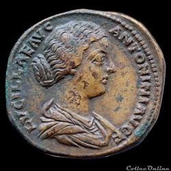 Lucille (164-169) - Sesterce - IVNONI LV...