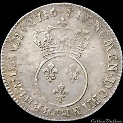 monnaie france royale louis xv quart ecu 1716 t nantes