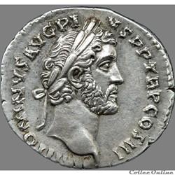Antonin le Pieux (138-161) - Denier - CLEMENTIA AVG