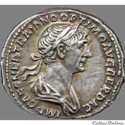 Trajan (98-117) - Denier - Mars