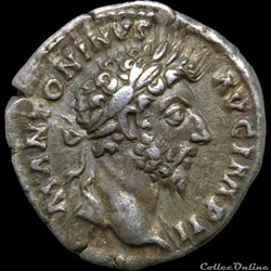 Marc Aurèle (139-180) - Denier - TR P XVIII COS III