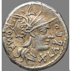 Gens Fabia - Denier - Fabius Labeo (c.144 av. J.C)