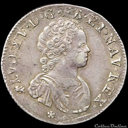 Louis XV - Quart d'écu - 1716 T Nantes