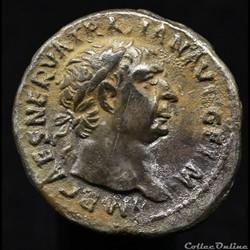 Trajan (98-117) - Denier -  P. M. TR. P....
