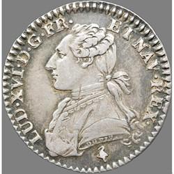 Louis XVI - Dixième d'écu aux branches d'olivier - 1780/79 A Paris
