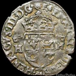 Henri III (1574-1589) - Douzain du Dauph...