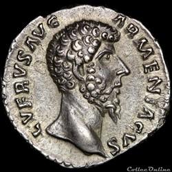 Lucius Verus (161-169) - Denier - TR P I...
