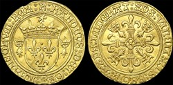 "Charles VIII (1483-1498) - Écu d'or ""au ..."
