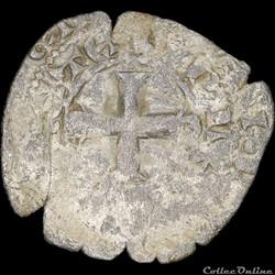 Bourgogne - Eudes IV (1315-1349) - Maille noire double - Auxonne