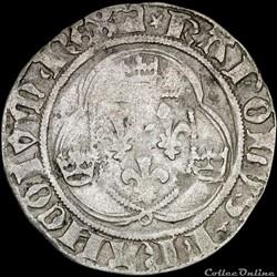 Charles VII (1422-1461) - Blanc - Dijon