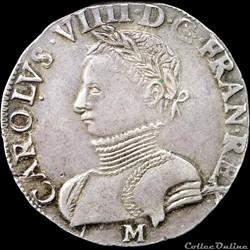 Charles IX (1560-1574) - Teston - 1565 M Toulouse