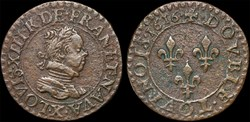 CGKL 266 - Louis XIII - Double tournois ...