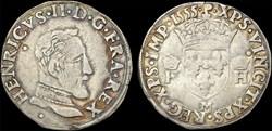 Henri II (1547-1559) - Demi-teston - 155...