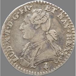 Louis XVI - Dixième d'écu aux branches d'olivier - 1783 A Paris