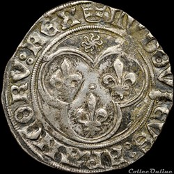 Louis XI (1461-1483) - Blanc au soleil -...