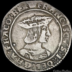 François Ier (1515-1547) - Teston - Pari...