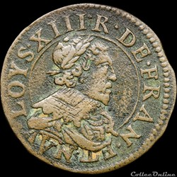 CGKL 540 - Louis XIII - Double tournois 1636 Stenay