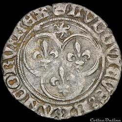 Louis XI (1461-1483) - Petit blanc - Sai...