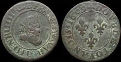 CGKL 202.A - Henri IV - Double tournois ...