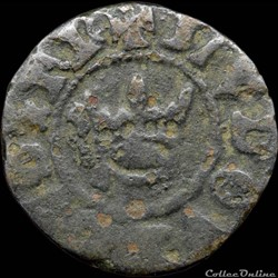 Louis XI (1461-1483) - Obole tournois