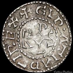 Charles II le Chauve (843-877) - Denier - Arras