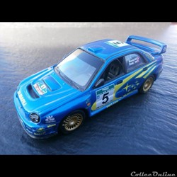Subaru Impreza WRC Rallye de Nouvelle-Zelande 2001