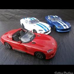 Dodge Viper RT/10 et GTS coupé