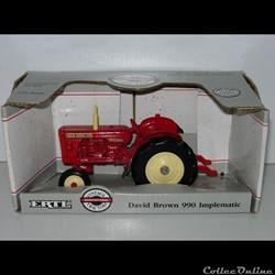 Ertl 4180 - David Brown 990 Implematic -...