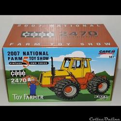 ERTL 16167A - Case 2470 NFTS 2007 - OK