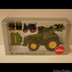 SIKU SP02 - John Deere 7430 Power-Set - ...