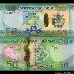 ILES SALOMON - PICK 31 - 50 DOLLARS - 20...