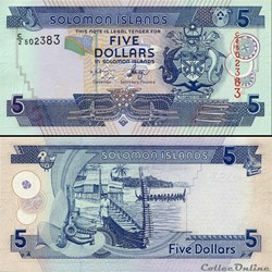ILES SALOMON - PICK 26 a 1 - 5 DOLLARS -...