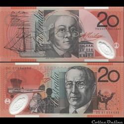 AUSTRALIE - PICK 59 e - 20 DOLLARS - 200...