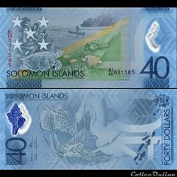 ILES SALOMON - PICK 37 - 40 DOLLARS - 20...
