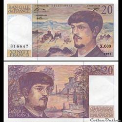 FRANCE - 20 FRANCS - 1993 - X.039