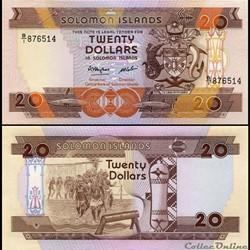 ILES SALOMON - PICK 16a - 20 DOLLARS - 1...