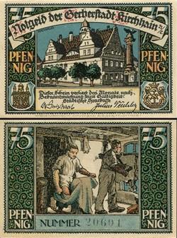 Kirchhain 75 Pfennig