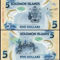ILES SALOMON - PICK 38 - 5 DOLLARS - 201...