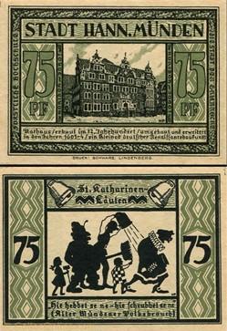 Hannoversch Münden 75 pfennig